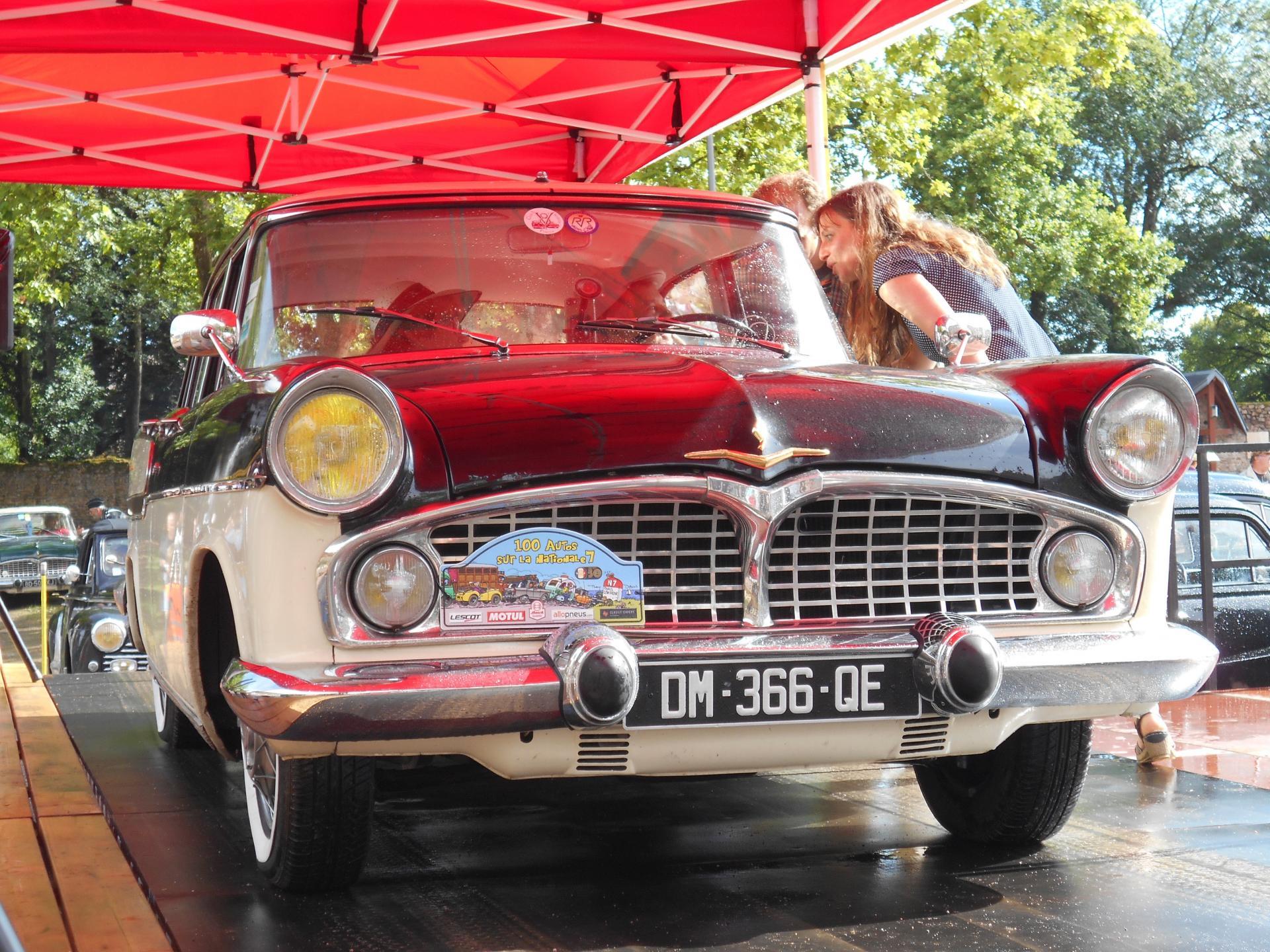juillet 2017 - 100 voitures sur la RN7