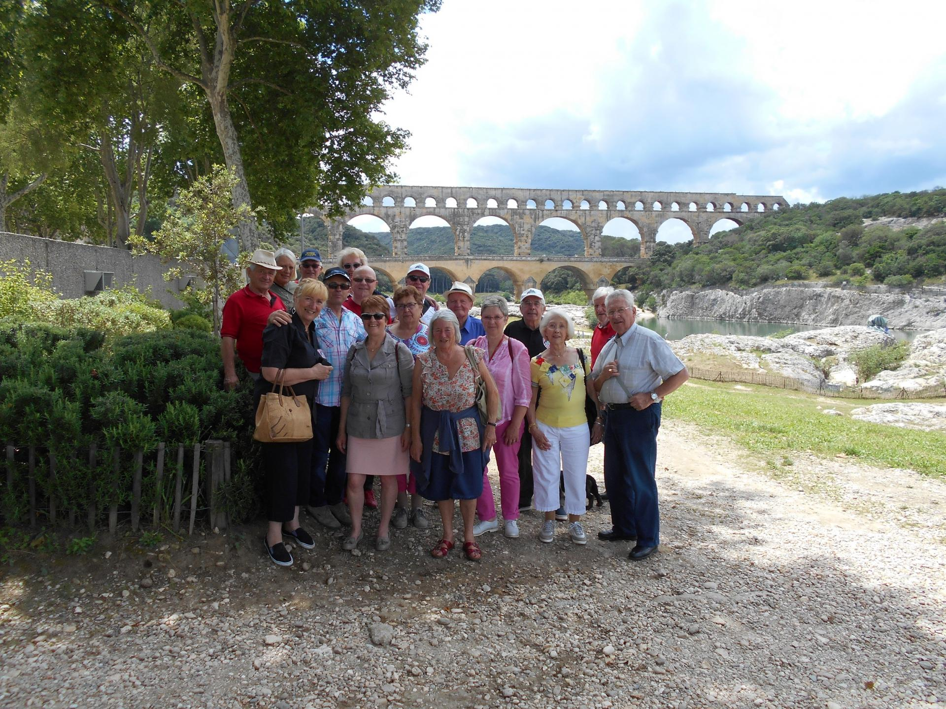 Lundi 6 juin Au Pont du Gard