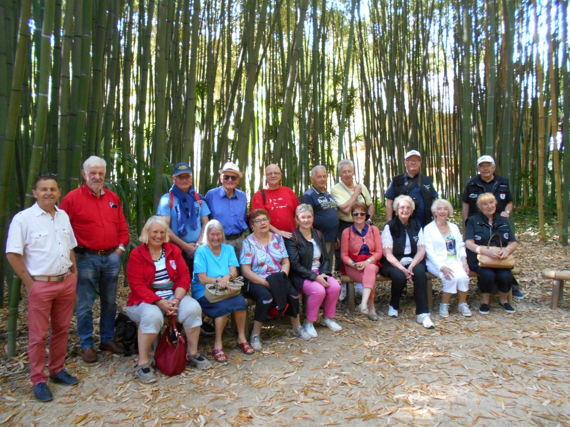 Mardi 5 juin - Anduze La bambouseraie