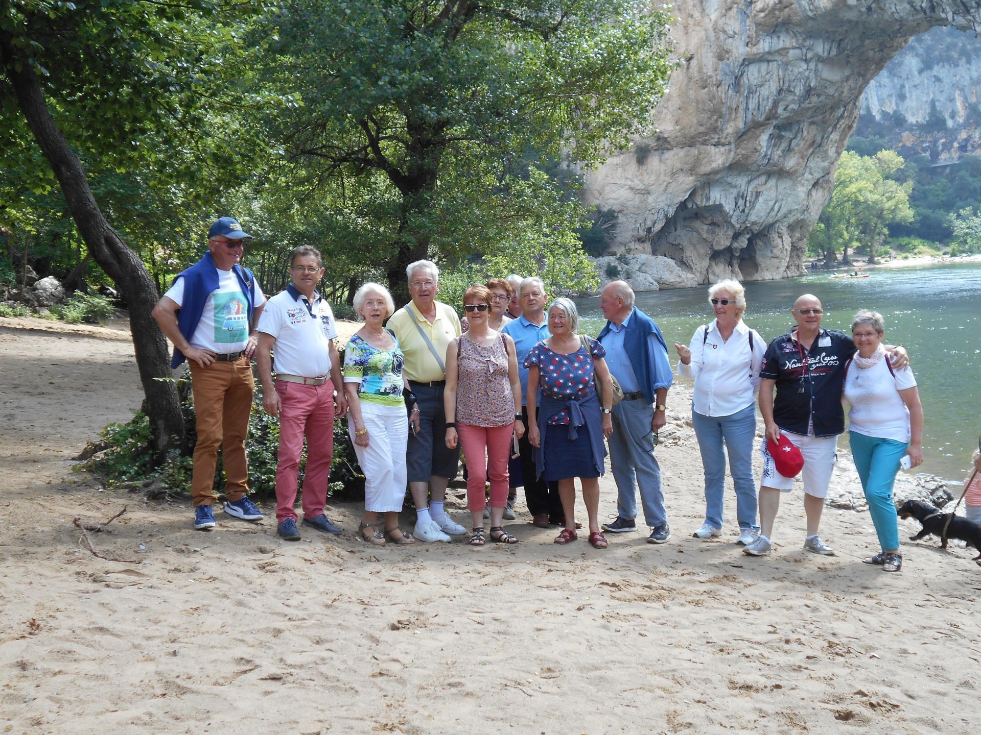 Mercredi 6 juin-  Vallon Pont d'Arc