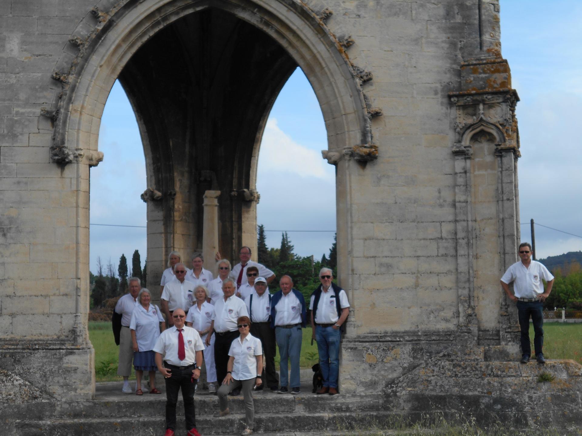 Jeudi 7 juin - l'Oratoire de la Croix couverte