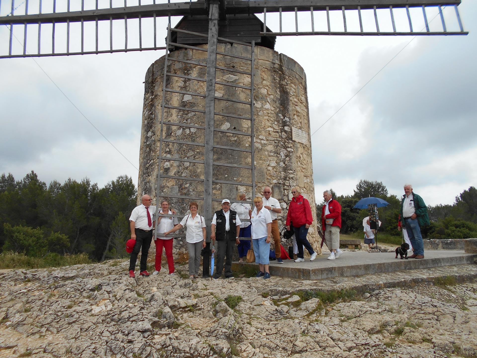 Jeudi 7 juin - Moulin de Daudet