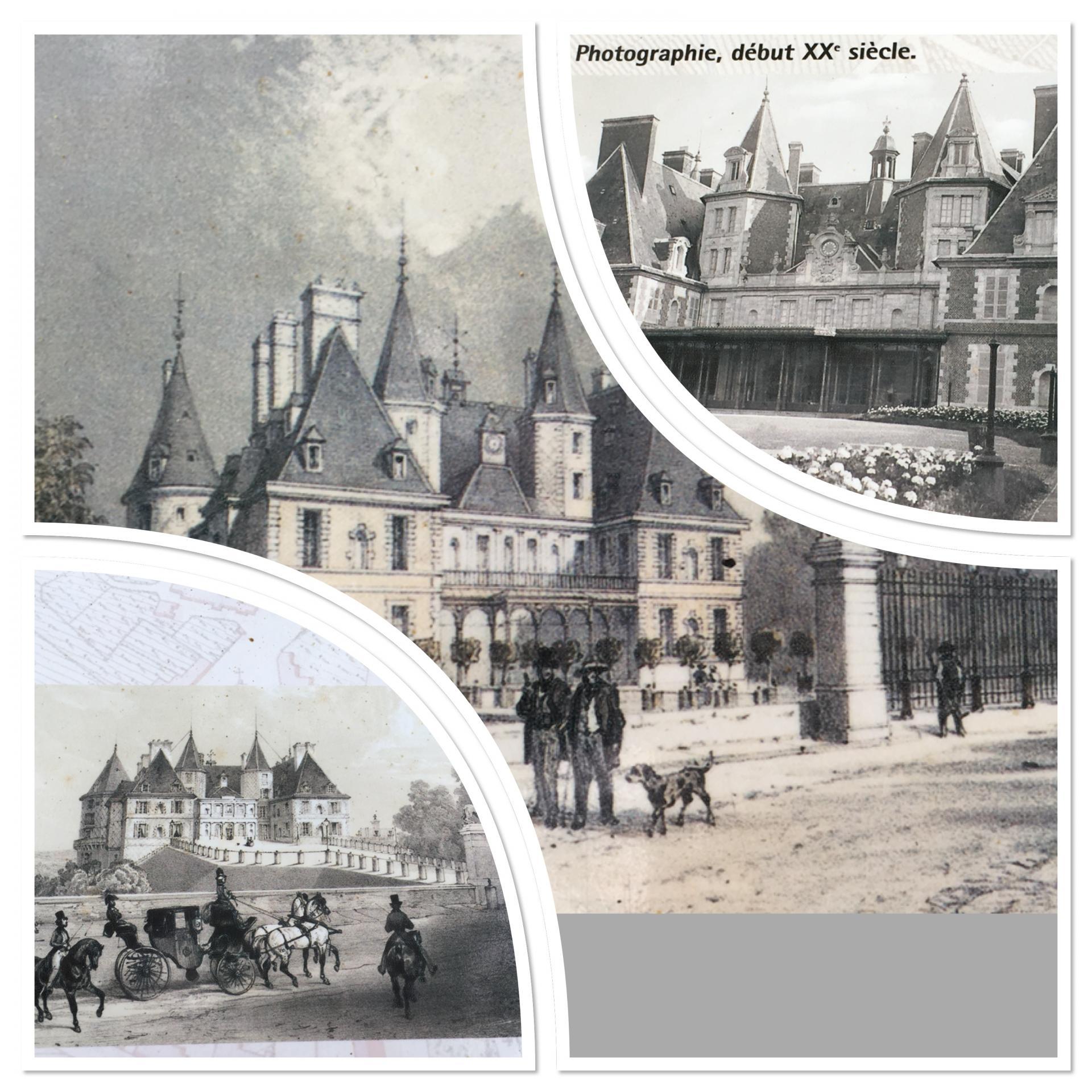 Le Château de Randan au début du 20ème siècle