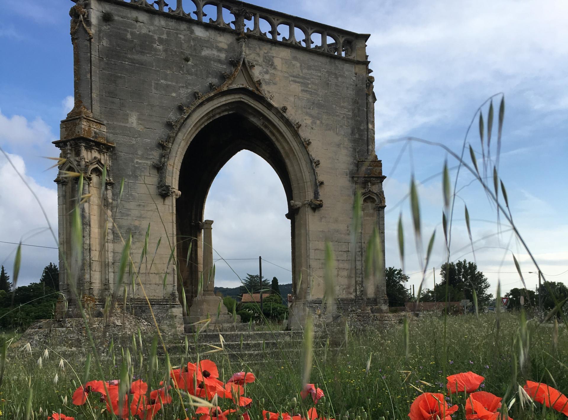 Les Baux de Provence du 3 au 10 Juin 2018