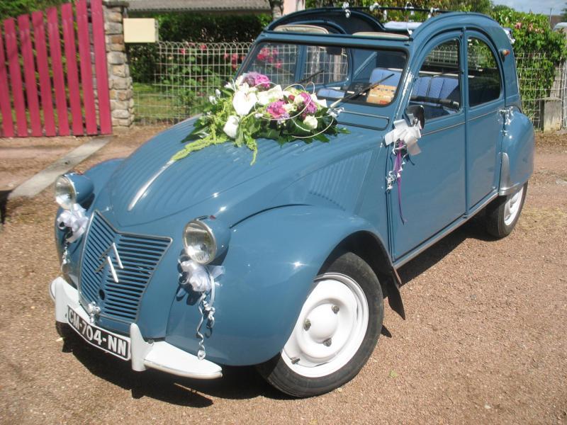 Deuche 1959 et mariage 10